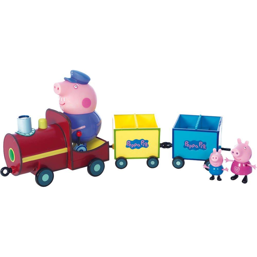Train Avec 3 Personnages Peppa Pig Figurines Jouéclub
