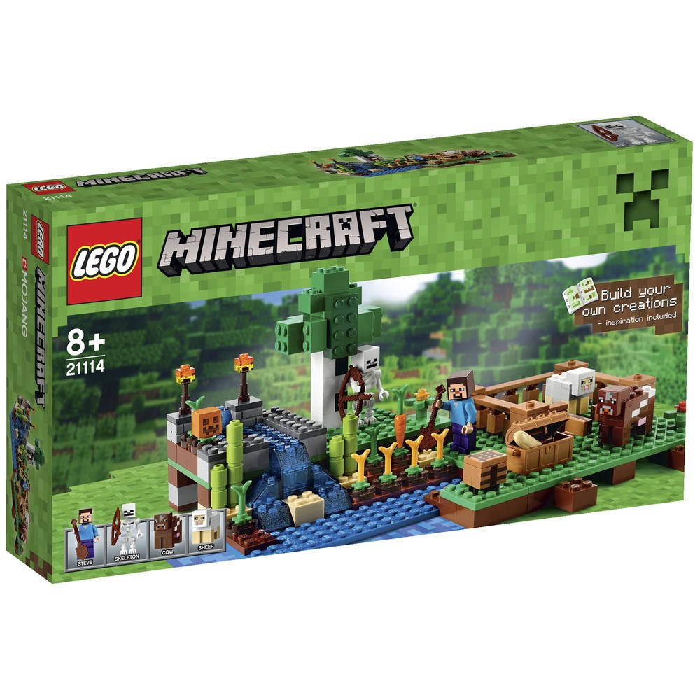 De FermeJeux La Constructionsamp; Jouéclub Maquettes Lego 21114 8m0wNn