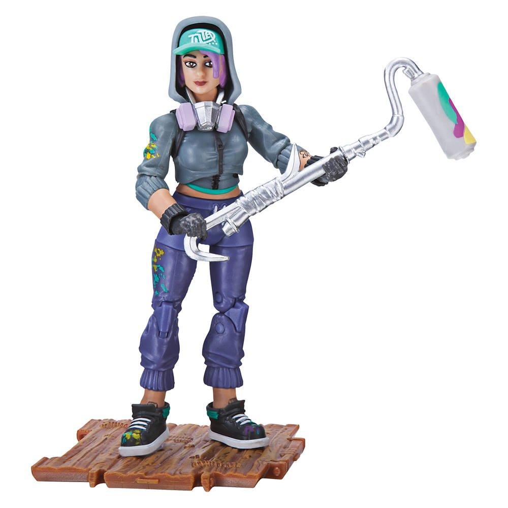 Coloriage Fortnite Graffeuse.Fortnite Figurine Graffeuse S1 Figurines Joueclub