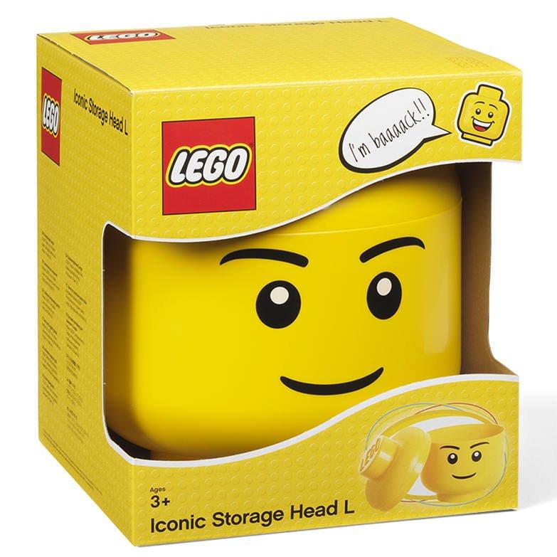 LEGO Stockage Head-Garçon-Petit