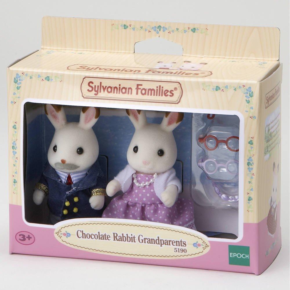 a05d6cbb735 Grands parents lapin chocolat sylvanian | figurines | jouéclub