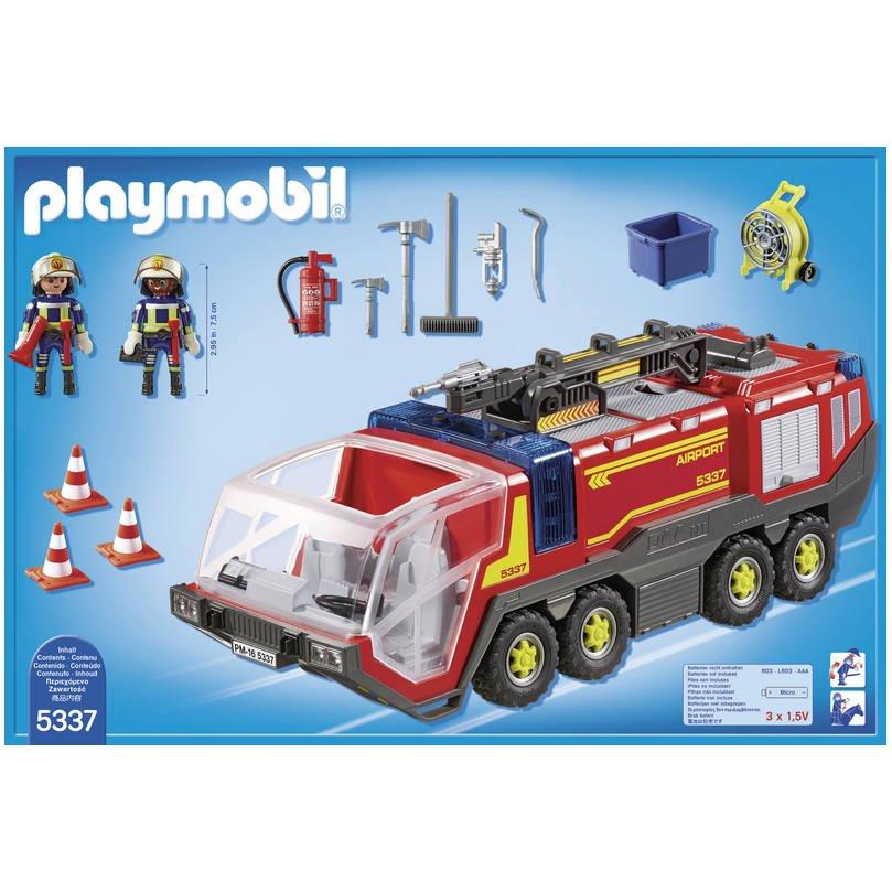 De Avec Vehicule Aeroportuaire 5337Jeux Constructions Pompiers 3jL4A5R