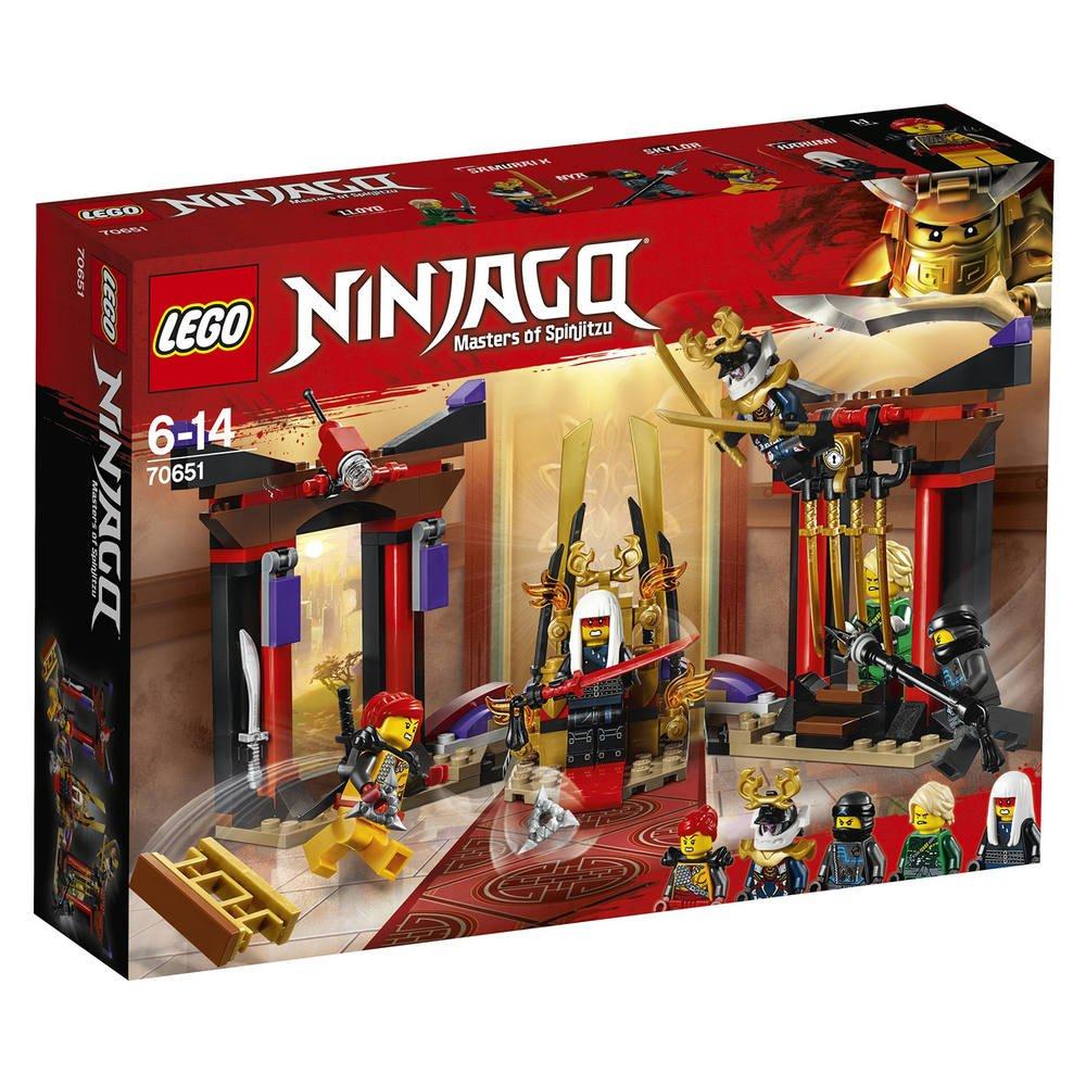 Lego 70651 La Confrontation Dans La Salle Du Trone
