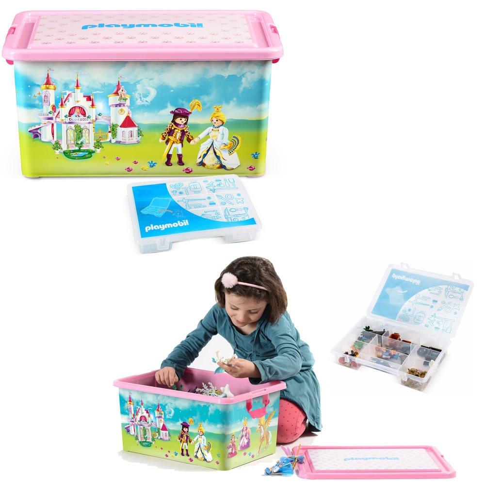 Boite plastique playmobil princesses | chambre enfants | jouéclub