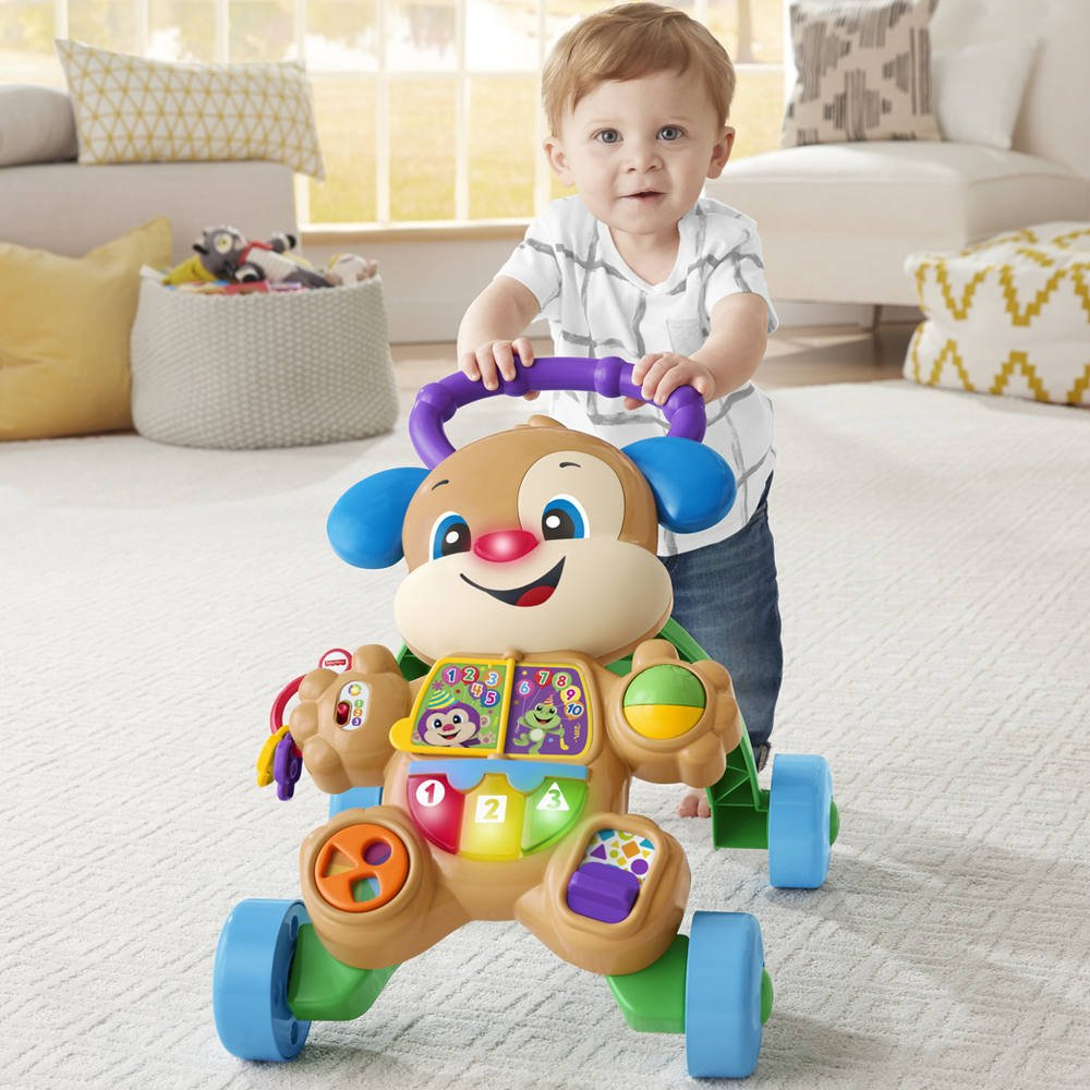 Trotteur puppy - fisher price | jouets 1er