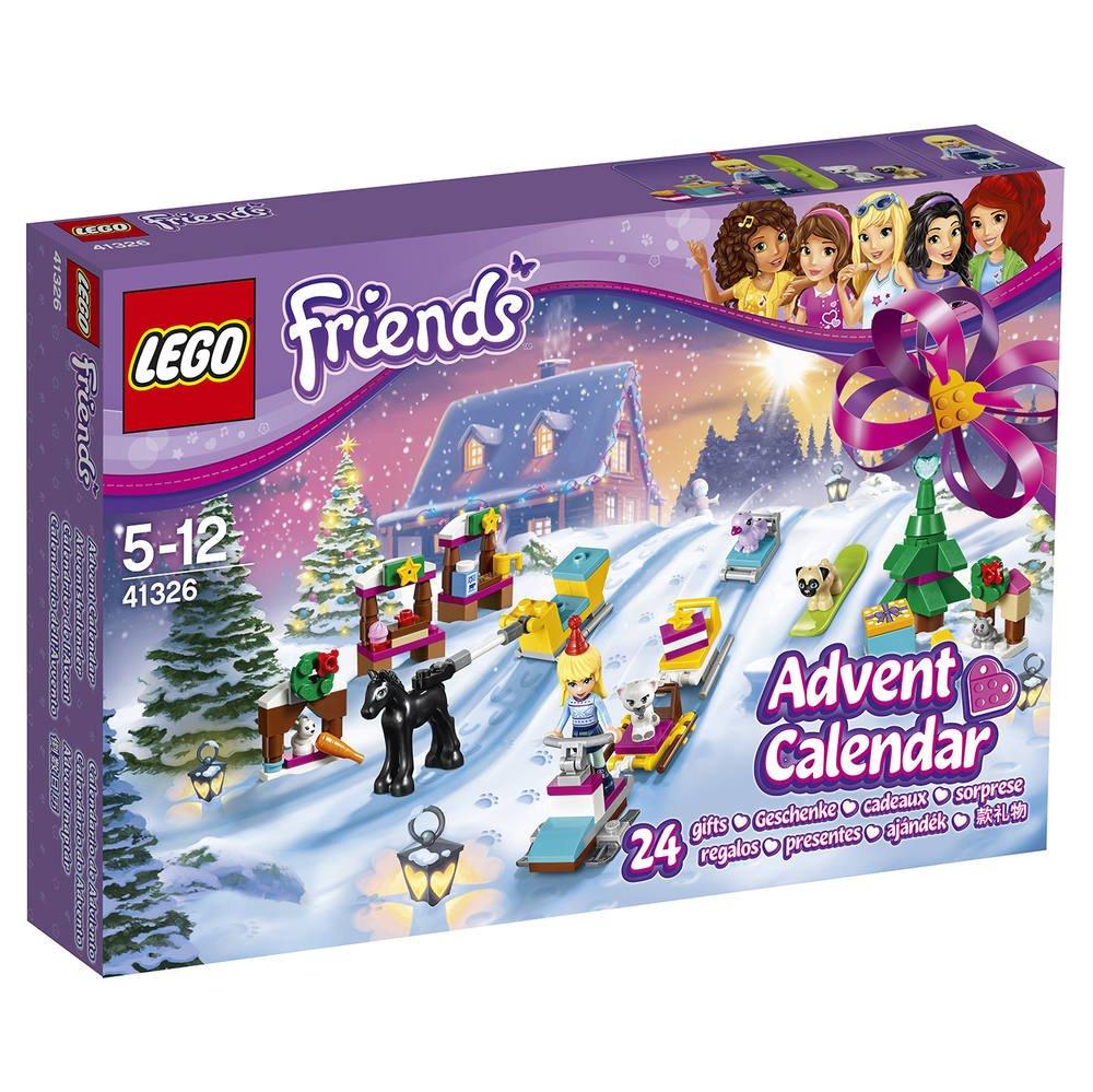 L' Le Calendrier 41326 FriendsJeux Lego Avent De TOZiXPku