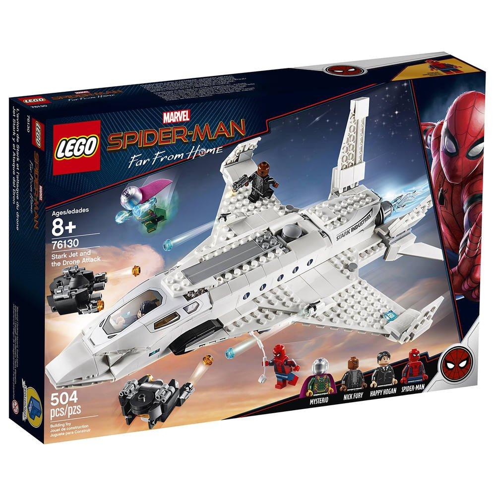Man Lego StarkJeux L'attaque Jet Spider 76130 De Avec Le shQrdCtx
