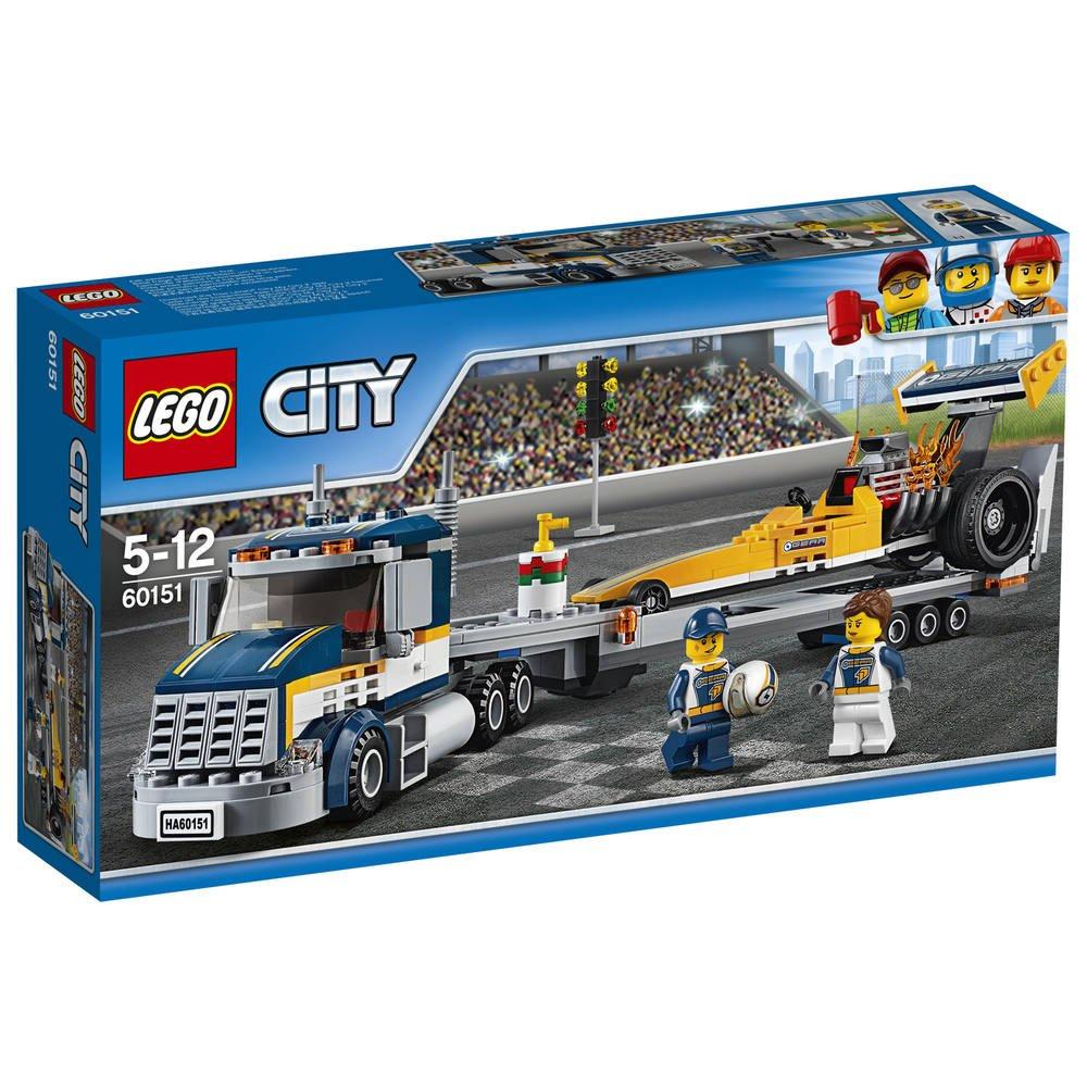 Le Constructions De 60151 Du Transporteur Lego DragsterJeux pVSzqUMG