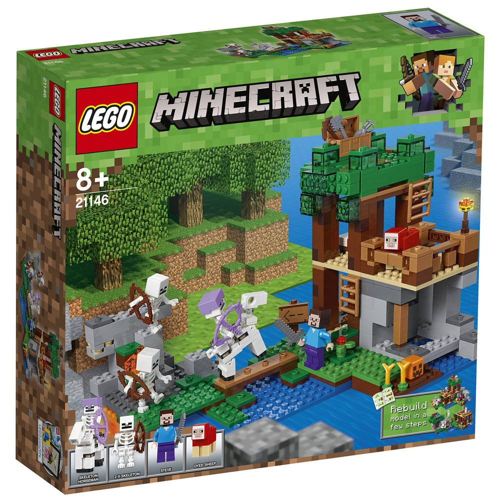 Lego Lego 21146 21146 L'attaque Squelettes Des 8vNnwm0