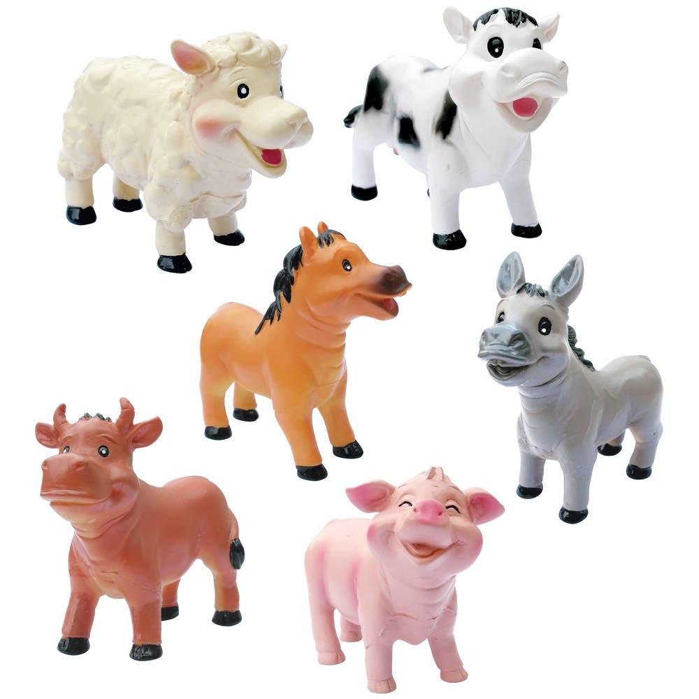 Animaux En Plastique Jouet bebes animaux de la ferme