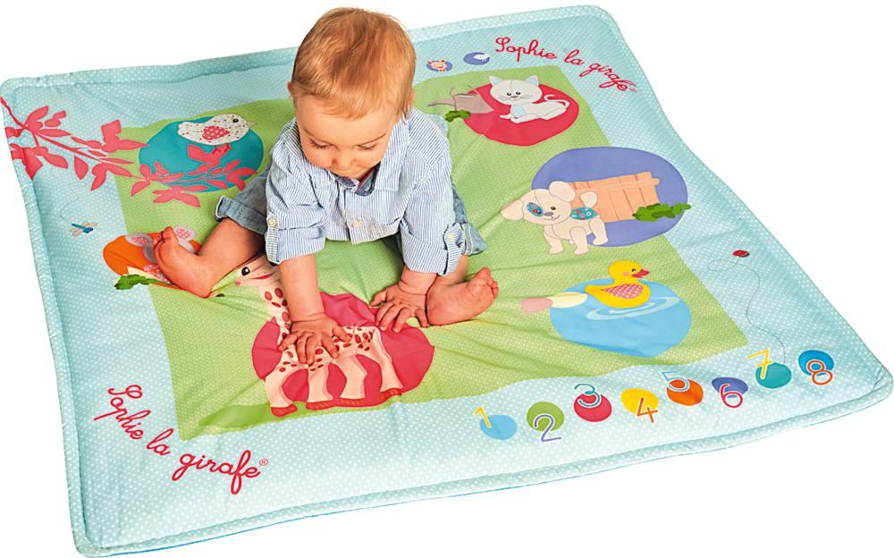 Touch Et Play Mat Sophie La Girafe Jouets 1er Age Jouéclub