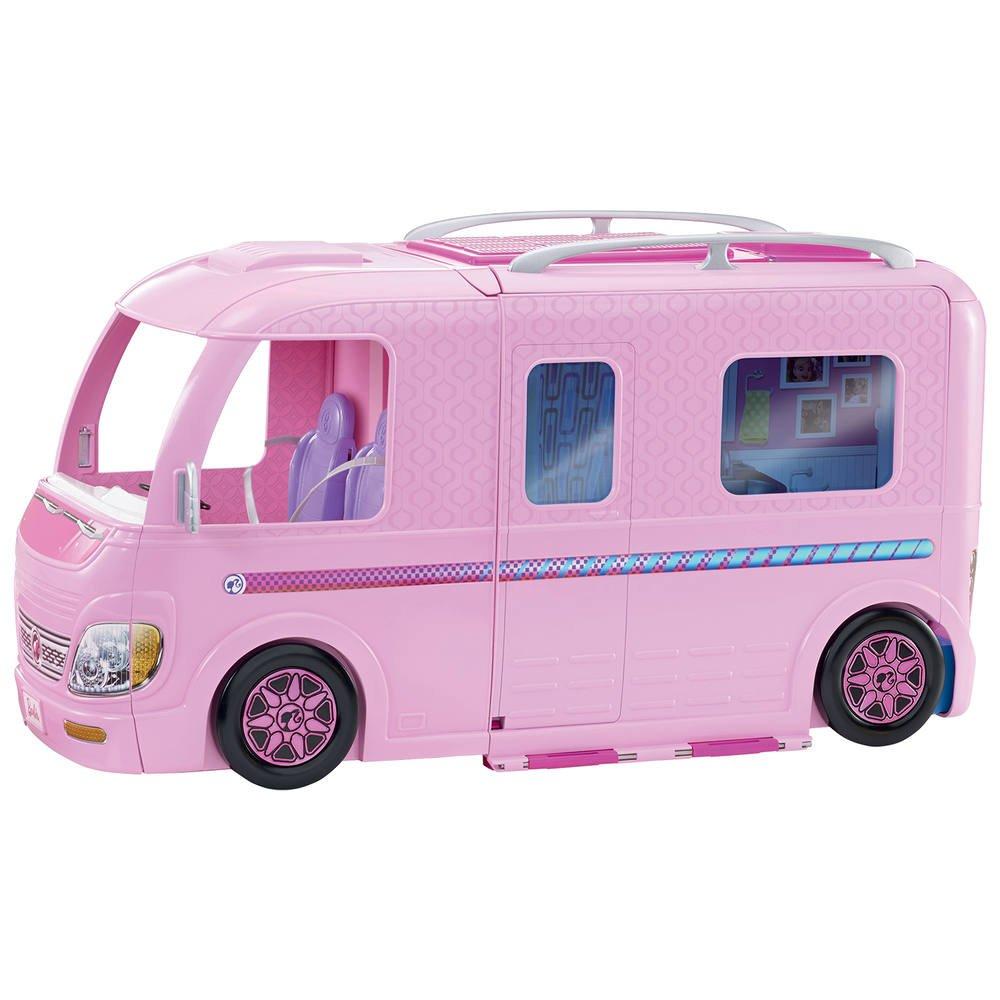 Camping Jouéclub Barbie Car Barbie TransformableFigurines ZuwOPXikT