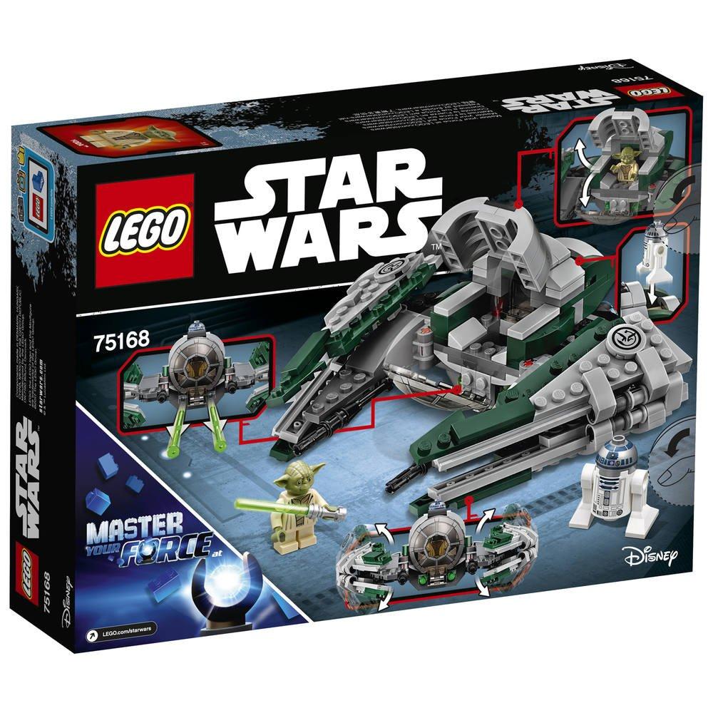 75168 WarsJeux Star Lego De Jedi Starfighter Yoda's xWoerBQdC
