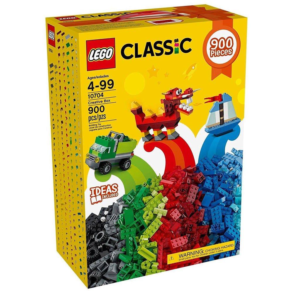 10704 Boite De ConstructionsJeux Lego Grande rxBoedC