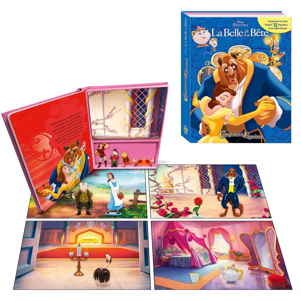 Belle Livre Comptines Bete La Figurines Et 3R45AqcjL