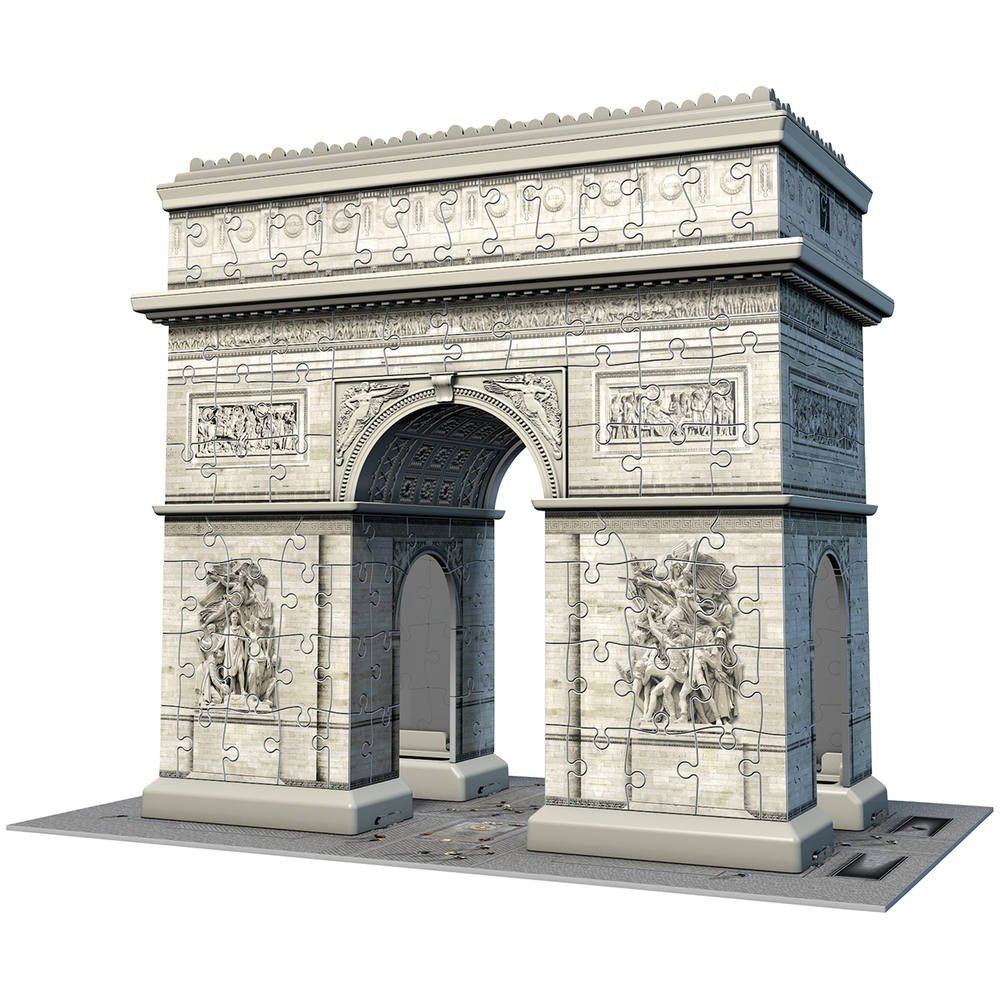 Puzzle Triomphe Pieces Arc De 3d 216 N8wOmnv0