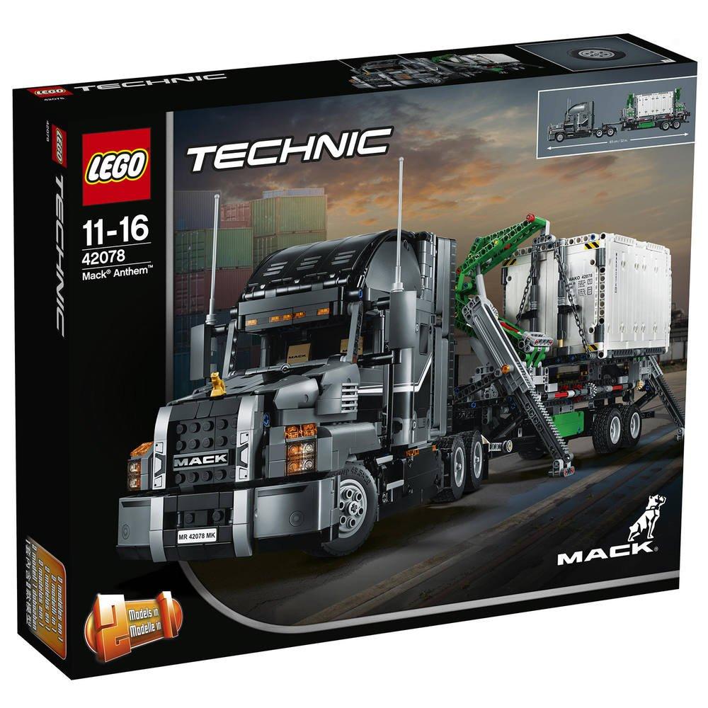 Coloriage Camion Mack.Lego 42078 Mack Anthem Jeux De Constructions
