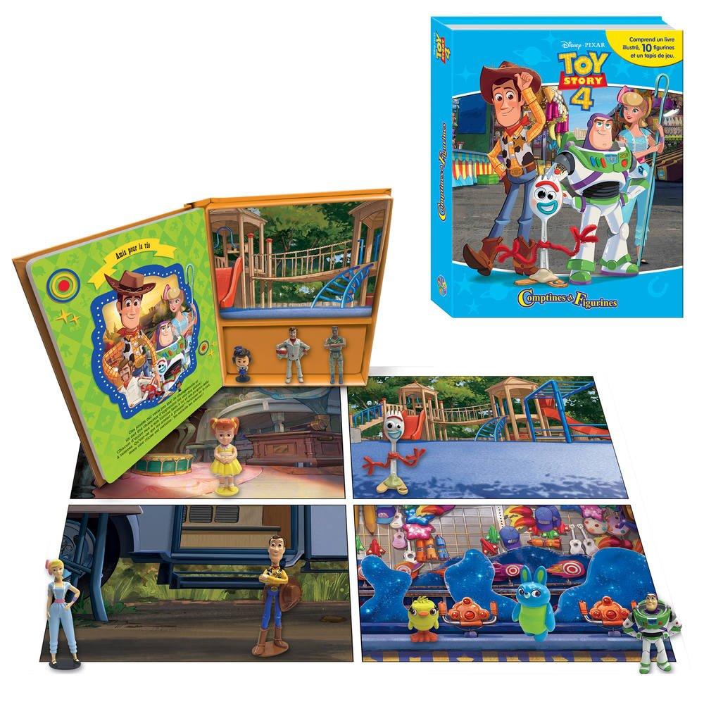 en Bois et Caoutchouc Naturel Art.27776 Tampons Enfants Personnalis/és 100/% Made in Italy Multiprint Box 4 Timbres Enfants Disney Toy Story 4 Encre Lavable Non Toxique Id/ée Cadeau