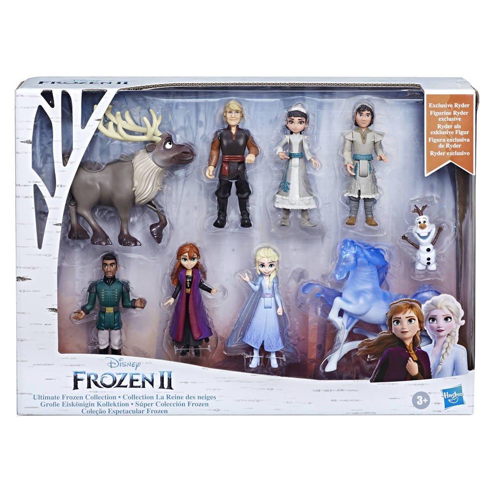 Collection Figurines La Reine Des Neiges Disney La Reine Des Neiges 2 Figurines Joueclub