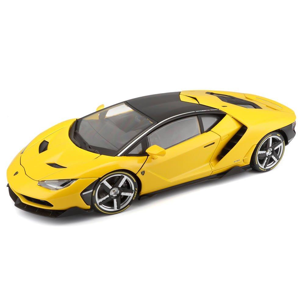 Lamborghini Centenario Jaune Exclusive 1 18eme Vehicules Garages
