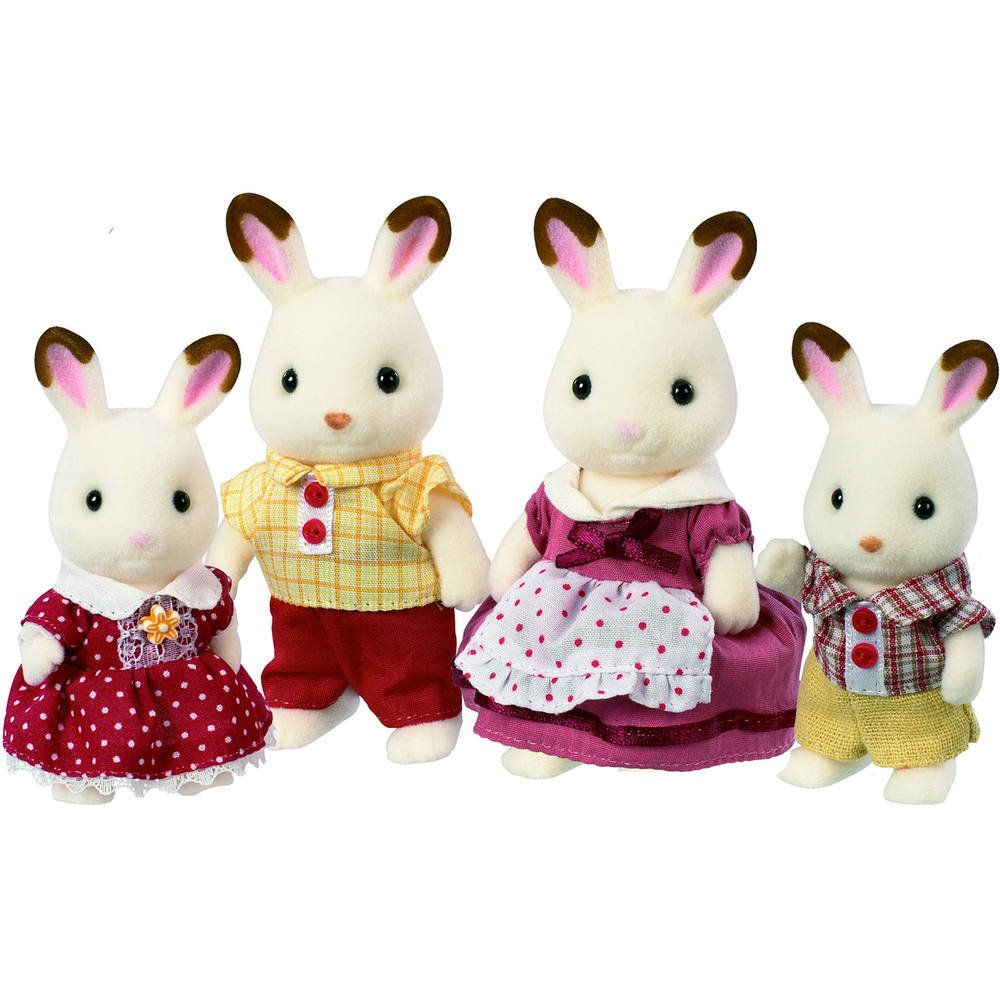 ff160996d4a Famille lapin chocolat sylvanian | figurines | jouéclub