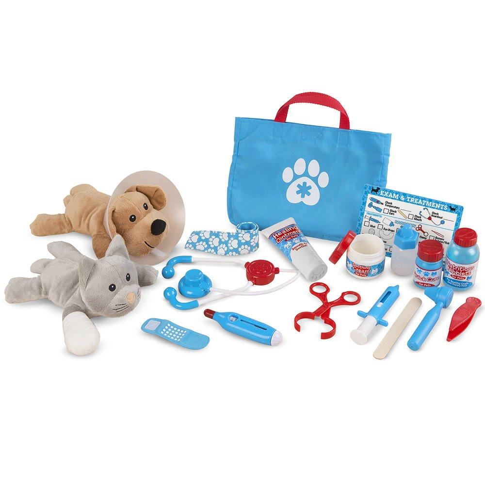 Ensemble de jeu veterinaire ausculte et soigne | jeux d