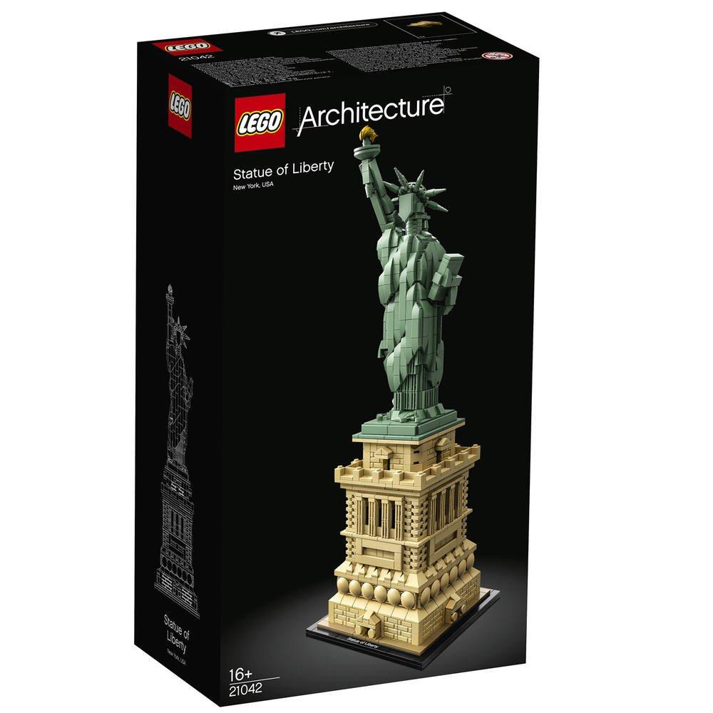 Lego 21042 La Statue De La Liberte Jeux De Constructions Maquettes Joueclub