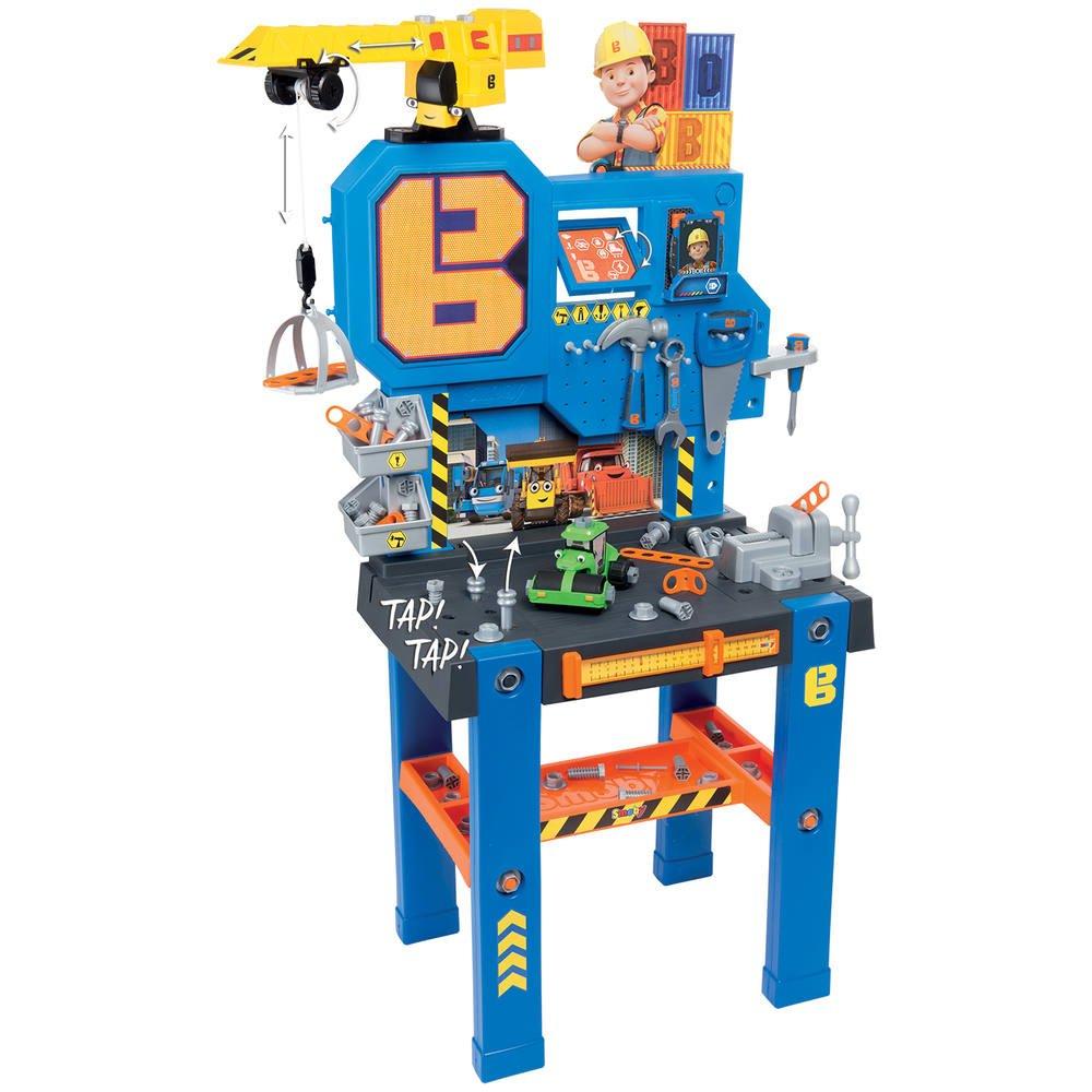Coloriage Le Camion De Bob Le Bricoleur.Bob Le Bricoleur Etabli Bricolo Center 93 Accessoires Inclus