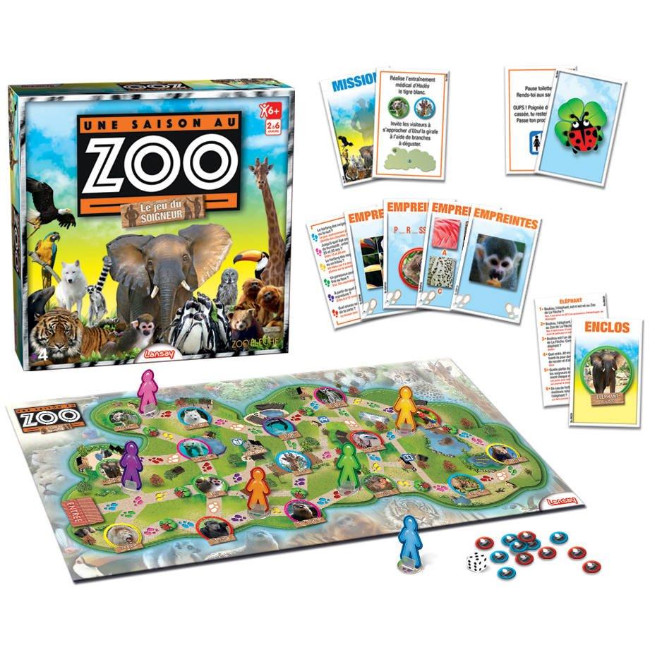Une Saison Au Zoo Le Jeu Du Soigneur
