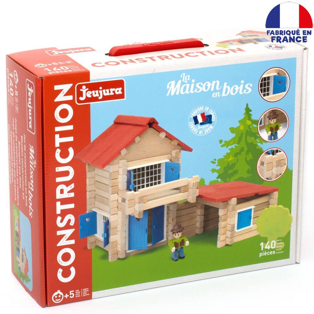 La Maison En Bois 140 Pieces Jeux De Constructions Maquettes