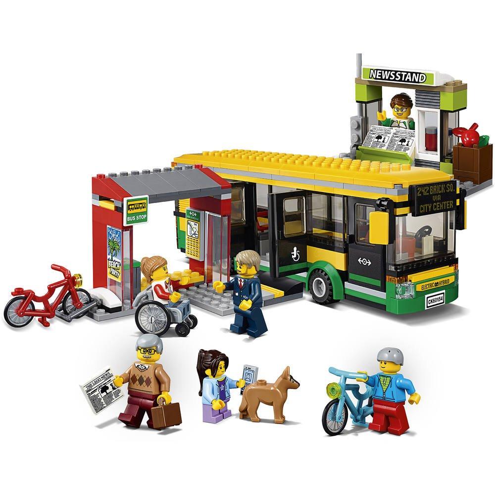 De Gare RoutiereJeux La Lego 60154 Constructionsamp; Maquettes 2DH9EI