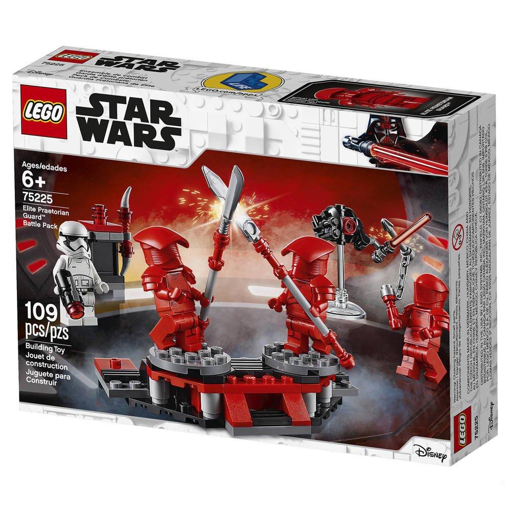 LEGO Star Wars 75225 Pack de Combat Garde Prétorienne d/'élite Jeux Construction
