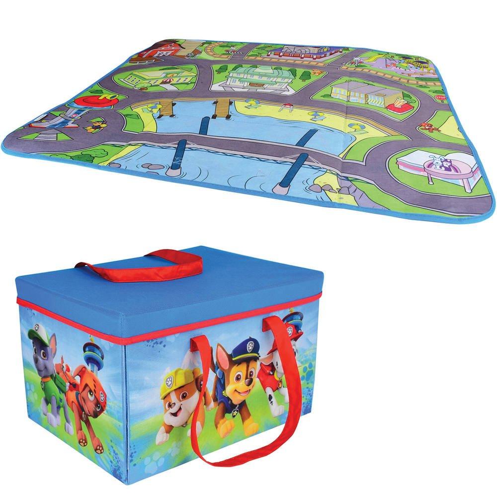 GUIZMAX Tapis Enfant la Pat Patrouille 125 x 95 cm Disney 02 Digital