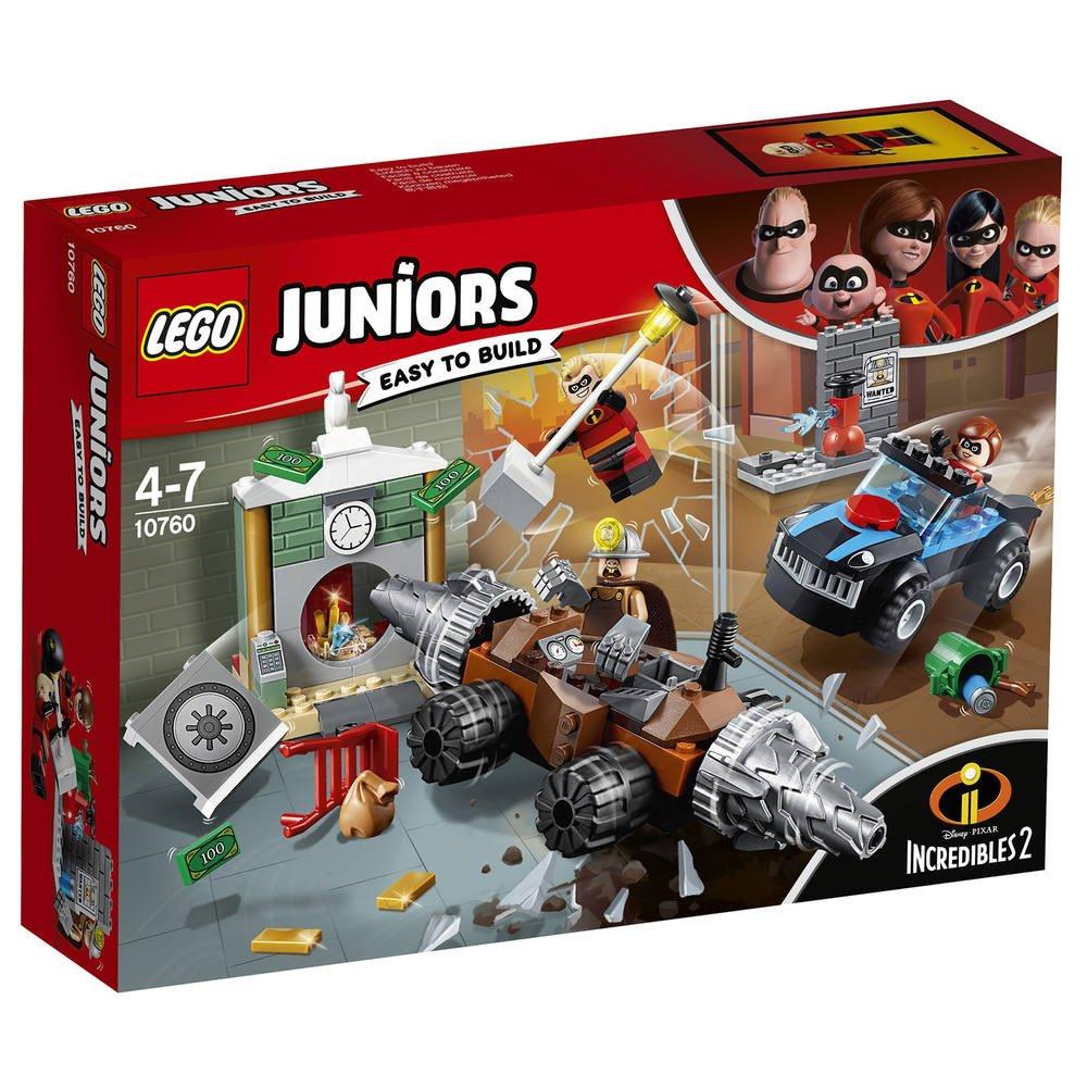 Lego 10760 Le Braquage D Une Banque Du Demolisseur Les