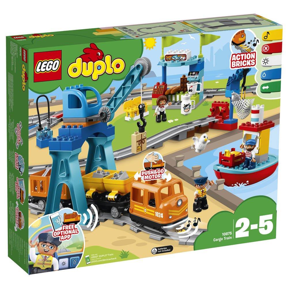 Duplo Le Train de marchandises : Cargo Train. 10875 |