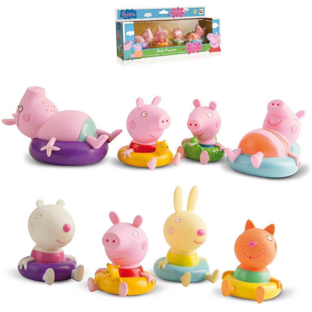 Figurines Peppa De De Pig Figurines Bain Bain CBWreQxEdo