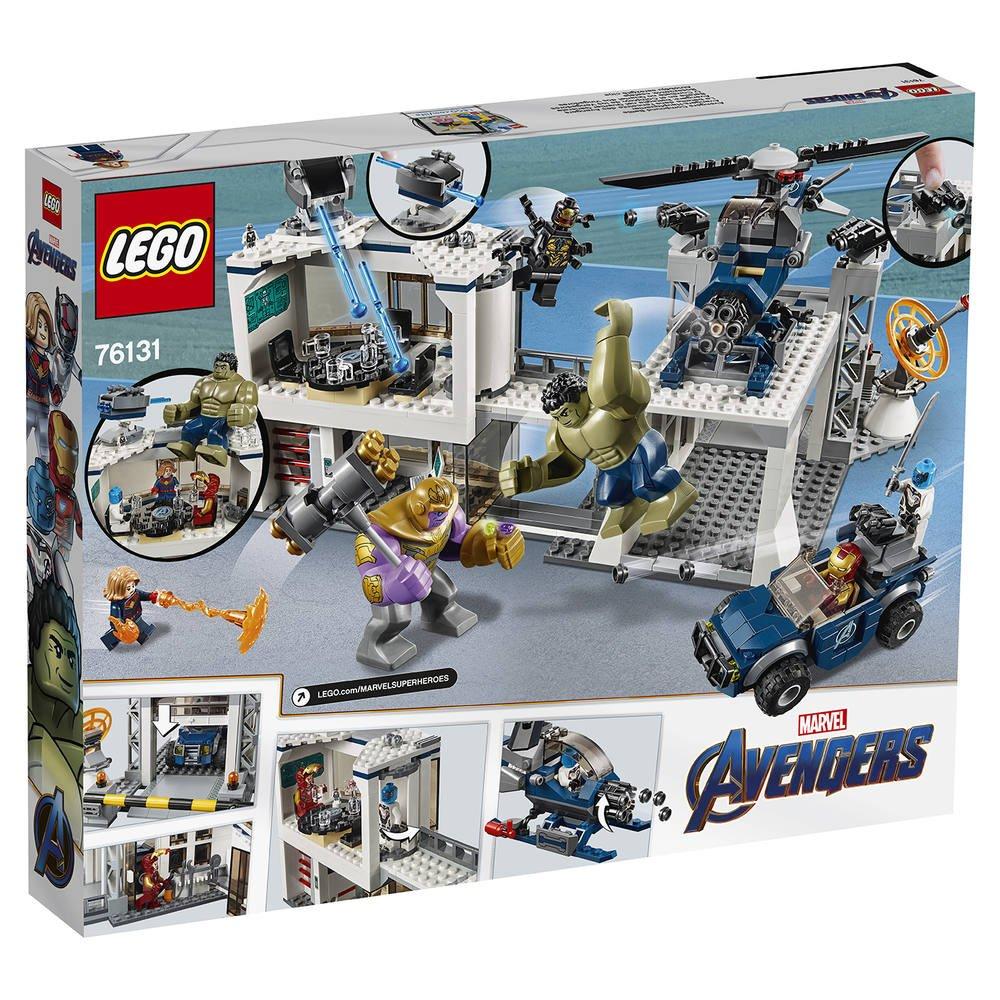 76131 Qg Du Des MarvelJeux De Avengers L'attaque Lego 4L5jRA