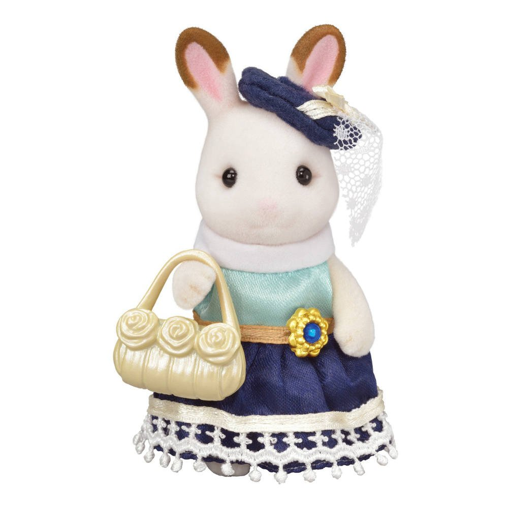 b837e752d7b La grande soeur lapin chocolat sylvanian | figurines | jouéclub