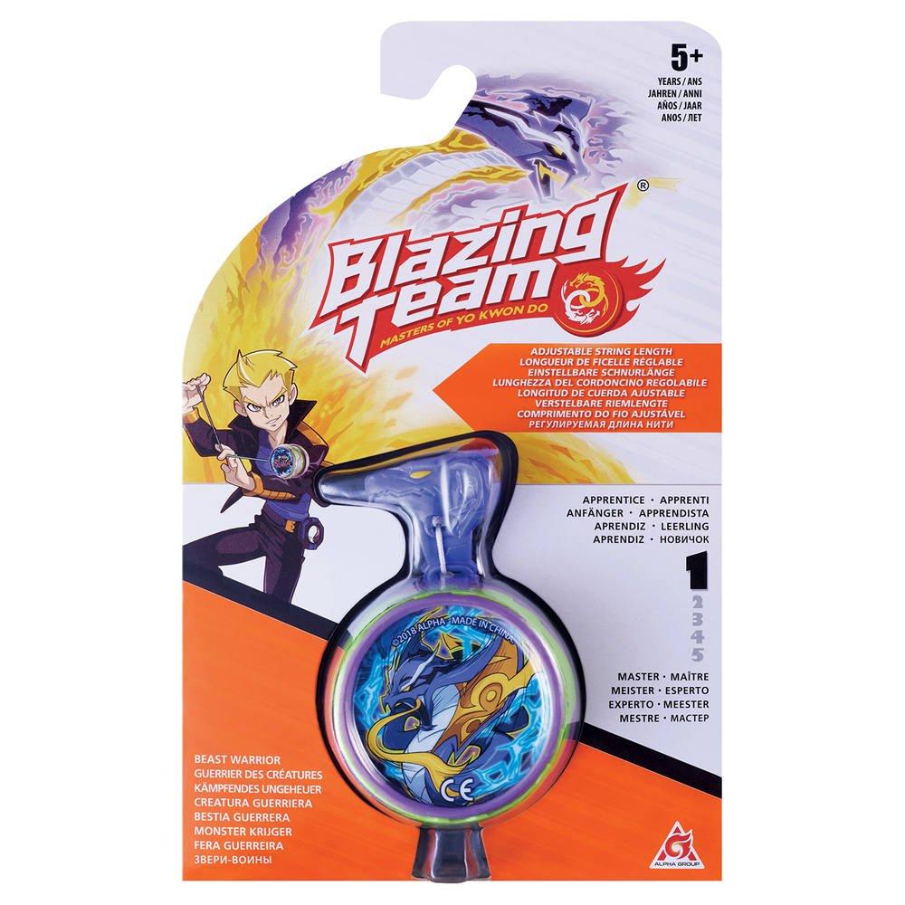 Yo Yo Blazing Team Gardiens Des Creatures Niveau 1 Comme