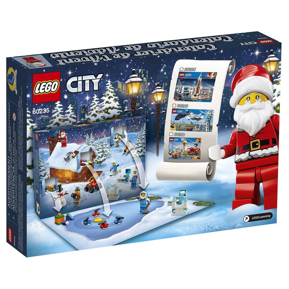 Calendrier De L Avent Spiderman.Lego 60235 Le Calendrier De L Avent Lego City Jeux De