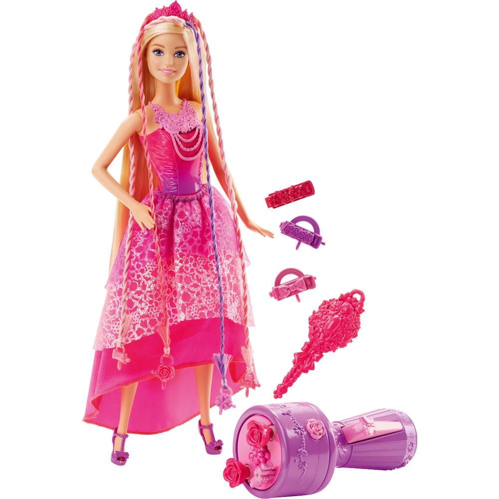 Coloriage Princesse Tresse.Barbie Princesse Tresses Magiques Poupees Mannequins Joueclub