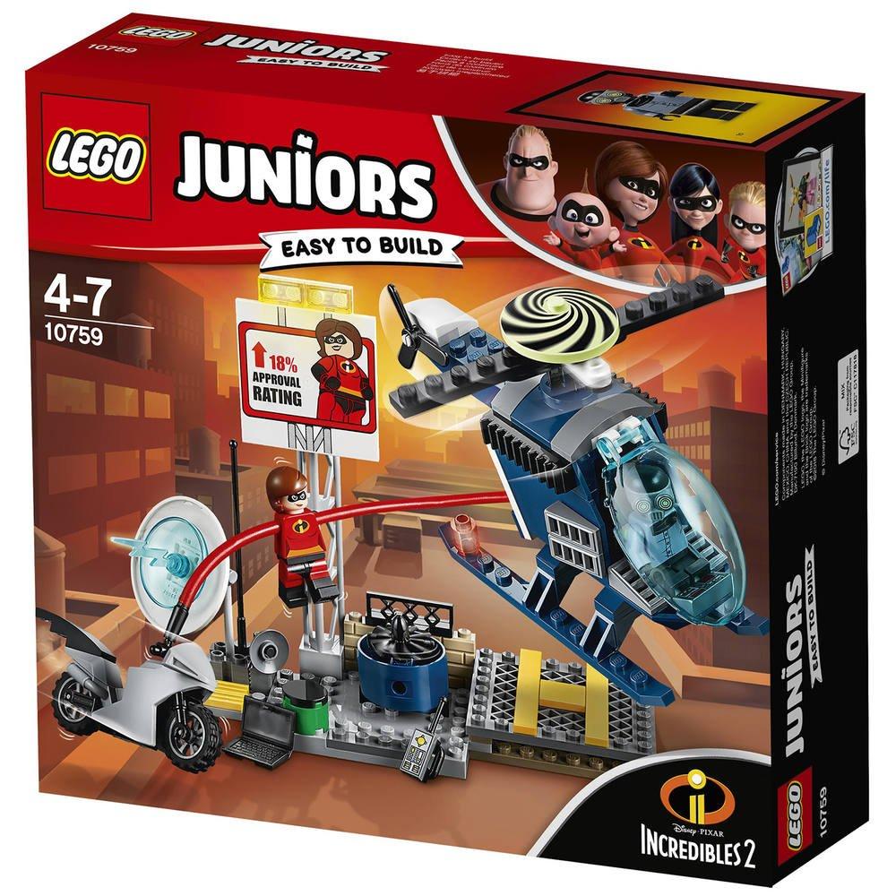 Lego 10759 La Poursuite Sur Les Toits D Elastigirl Les
