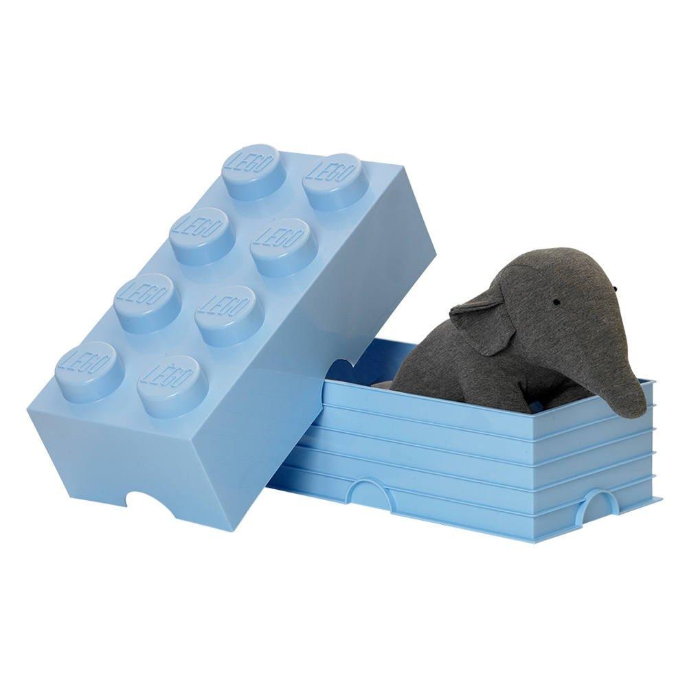 en soldes 786cd fa2aa Brique rangement empilable bleu clair 8 plots lego   chambre ...