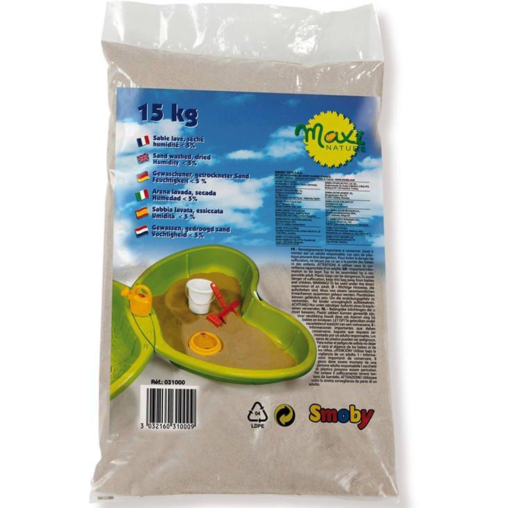 Sac de sable de 15Kg pour jeux et bac à sable