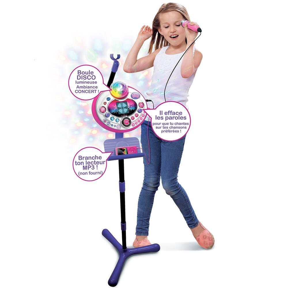 Micro kidi superstar lightshow rose | lecteurs cd enfants, mp3 ...