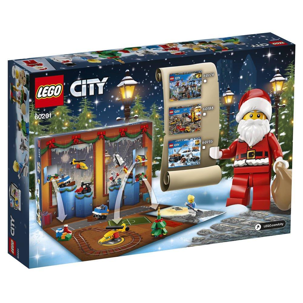 Calendrier Avent Lego City.Lego 60201 Le Calendrier De L Avent Lego City