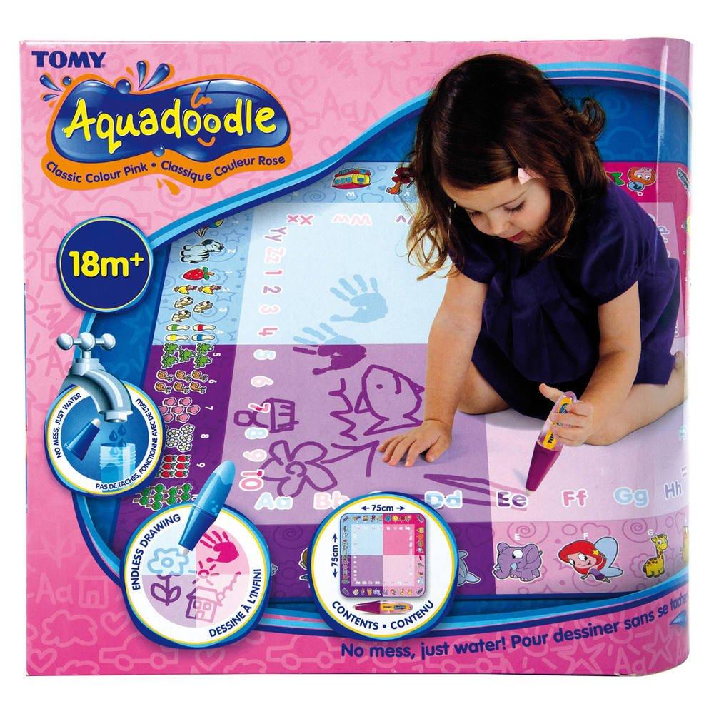 Tapis Aquadoodle Classique 4 Couleurs Rose Activites Creatives Et