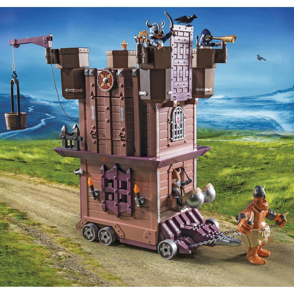 Tour 9340Jeux Des D'attaque De Constructions Mobile Nains gbYf67y