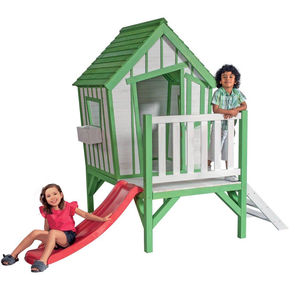 Maison Pour Enfant Exterieur ma cabane en bois sur pilotis