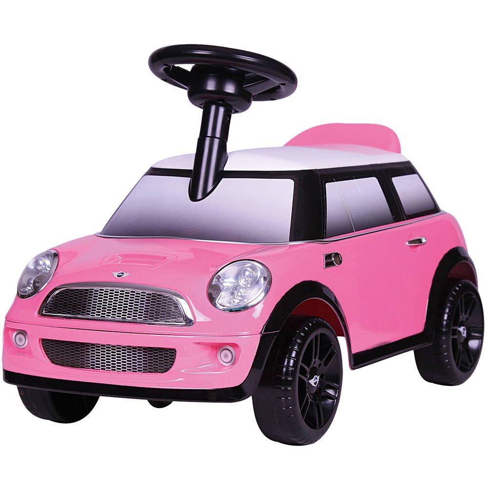 Porteur mini cooper s rose | jouets 1er age
